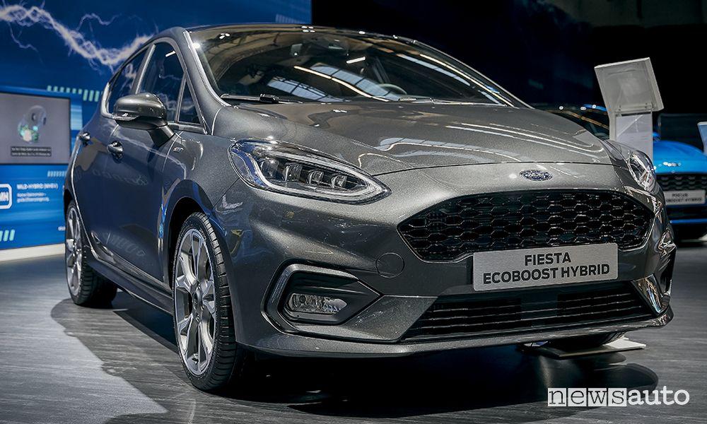 Ford Fiesta ibrida EcoBoost Hybrid MHEV