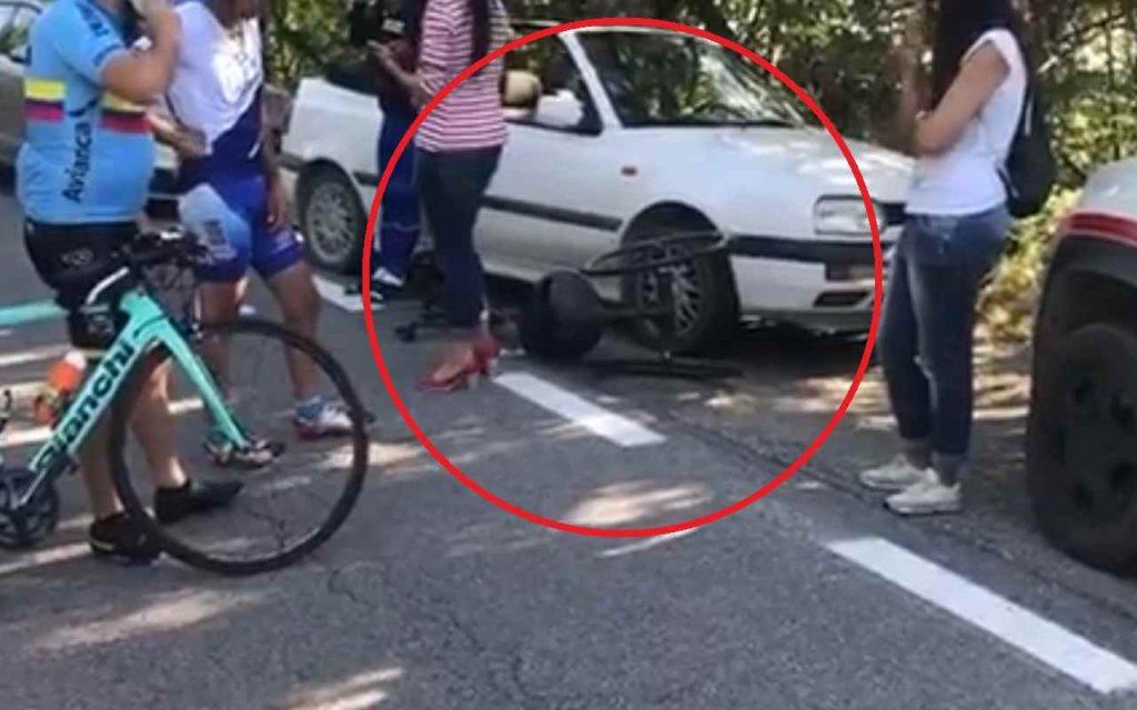 Incidente Zanardi con l'handbike (bicicletta)