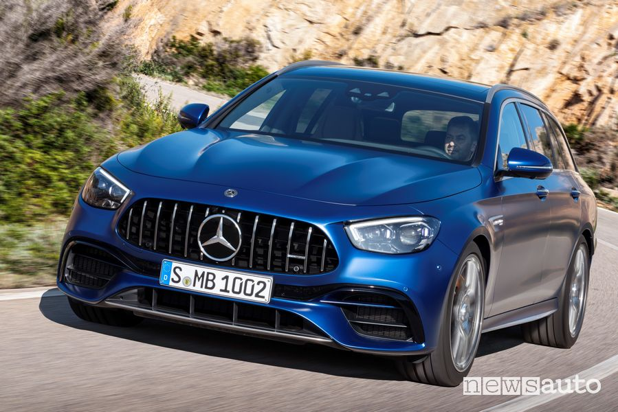 Vista anteriore Mercedes-AMG E 63 4Matic+ S wagon