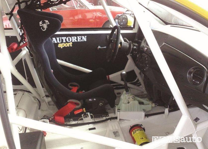 Leva cambio Getrag M32 su Abarth 500 Assetto Corse