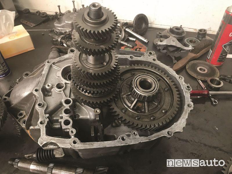 Cambio C501 Gearbox aperto