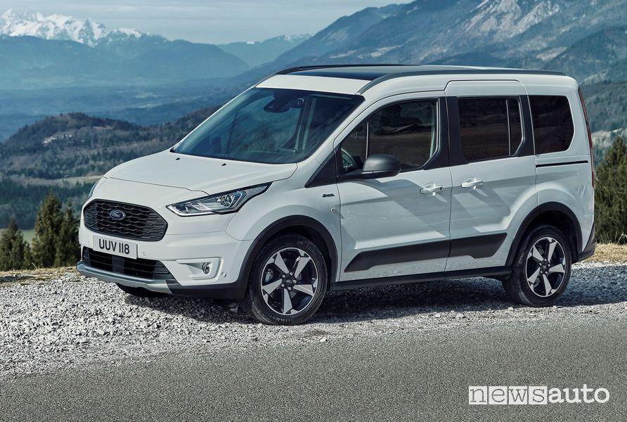 Vista di profilo Ford Tourneo Connect Active