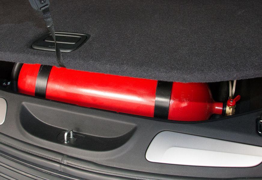 Bombole metano impianto Diesel Dual Fuel bagaglio Jeep Grand Cherokee