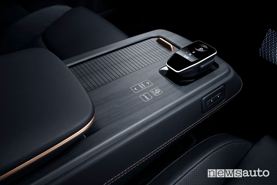 Consolle centrale, cambio automatico Nissan Ariya