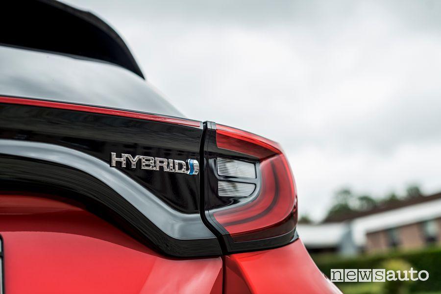 Faro posteriore nuova Toyota Yaris