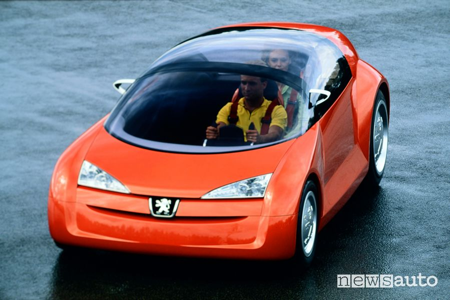 Peugeot Bobslid Concept del 2000