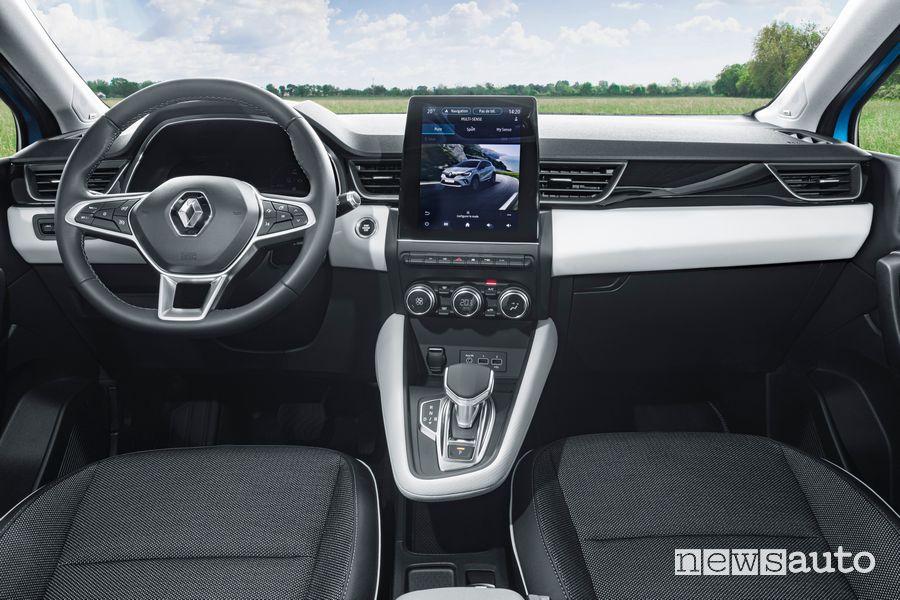 Plancia strumenti abitacolo Renault Captur E-Tech ibrido plug-in