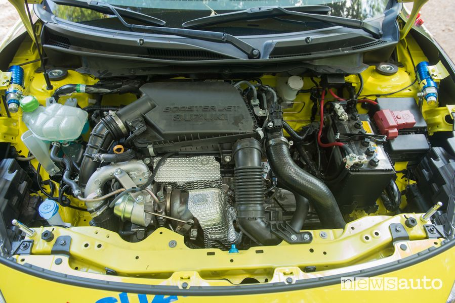 Vano motore 1.4 Boosterjet Suzuki Swift Sport Hybrid R1