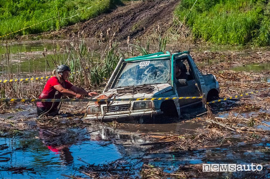 Suzuki in azione al RFC Ucraina 2020