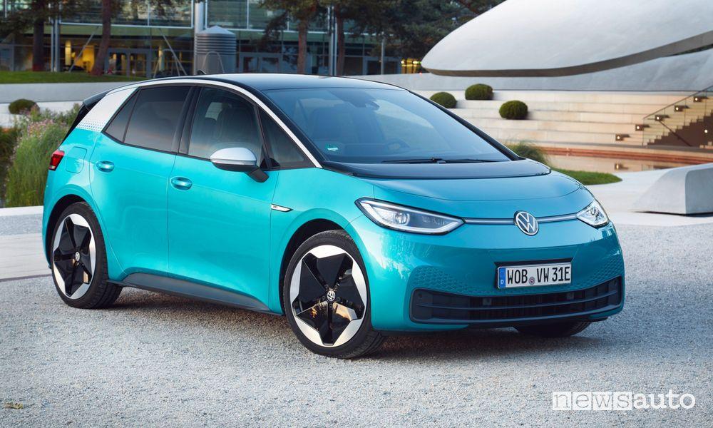 Volkswagen ID.3, caratteristiche, autonomia e tempi di ricarica