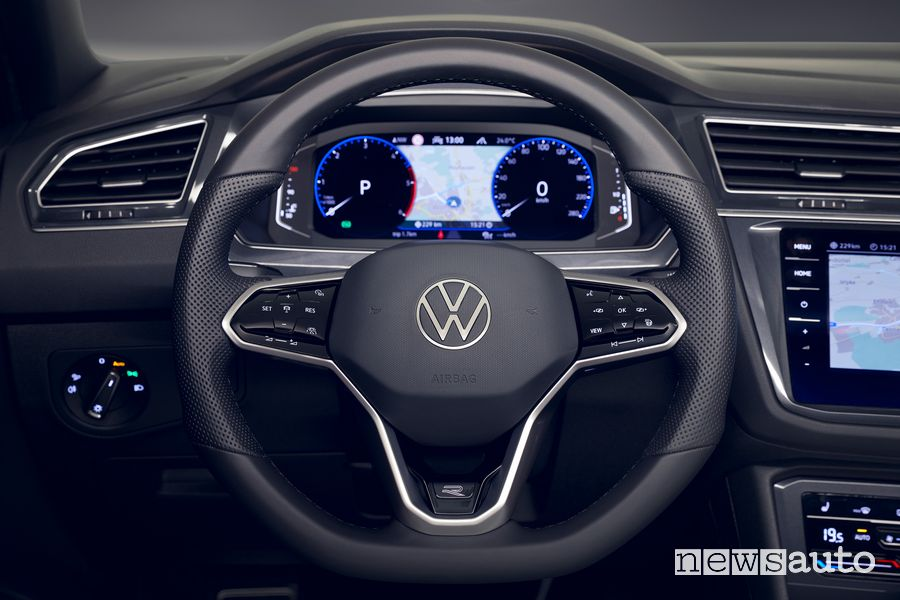 Volante abitacolo Volkswagen Tiguan 2021 R Line