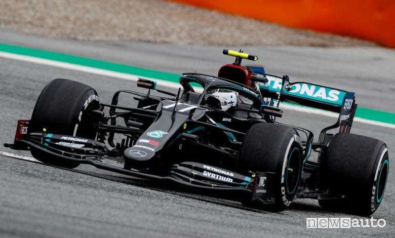 Qualifiche F1 Gp d'Austria 2020