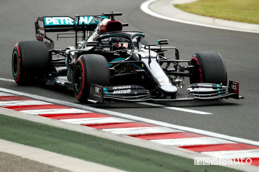 Lewis Hamilton ha vinto per l'ottava volta il Gp d'Ungheria all'Hungaroring