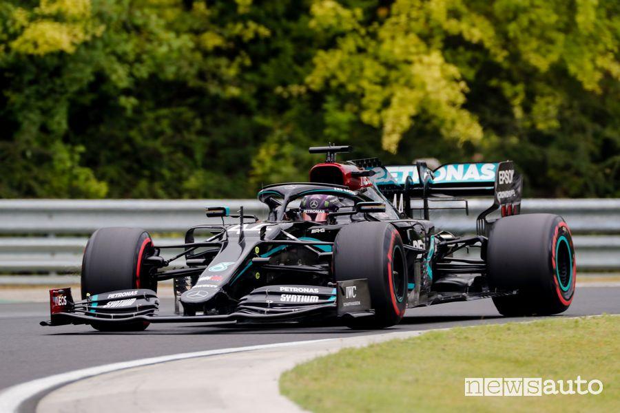 Qualifiche Gp d'Ungheria record della pista Hungaroring