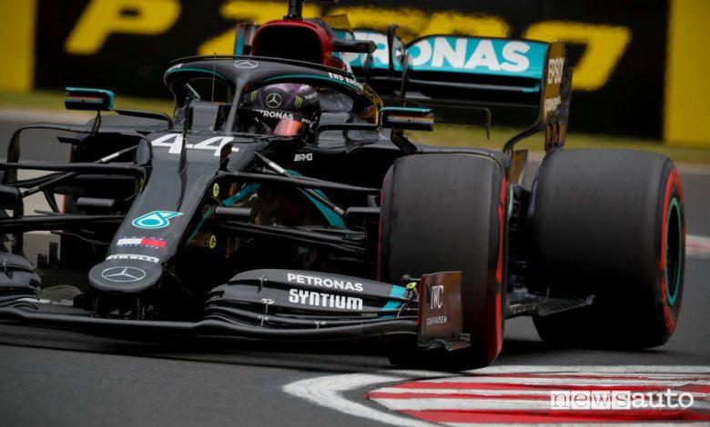 Qualifiche F1 Gp Ungheria 2020, la griglia di partenza