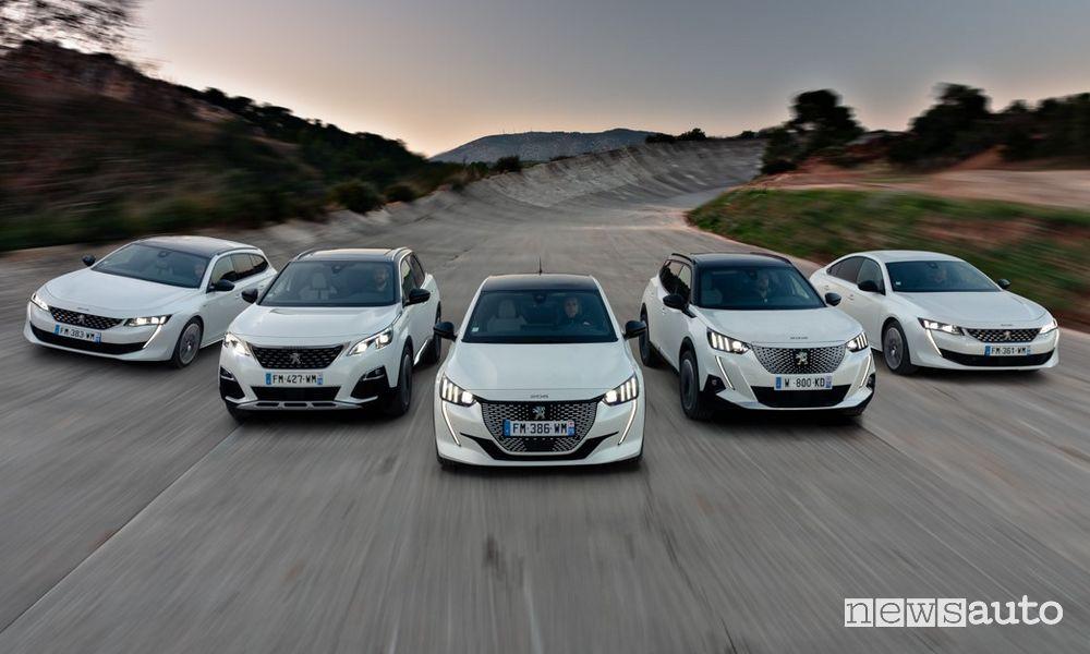 Ecobonus Peugeot, incentivi senza rottamazione