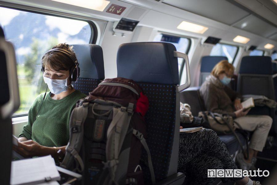 Viaggi in treno nell'estate del Covid-19