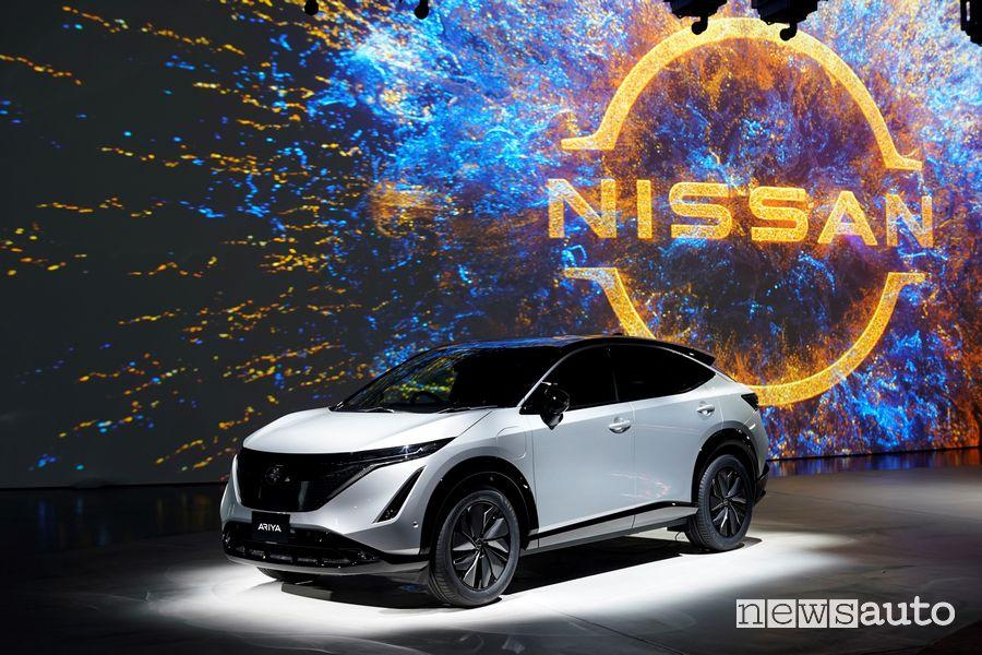 Presentazione Nissan Ariya, crossover coupé elettrico