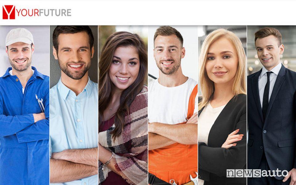Offerte di lavoro Toyota e Lexus sulla piattaforma web YourFuture