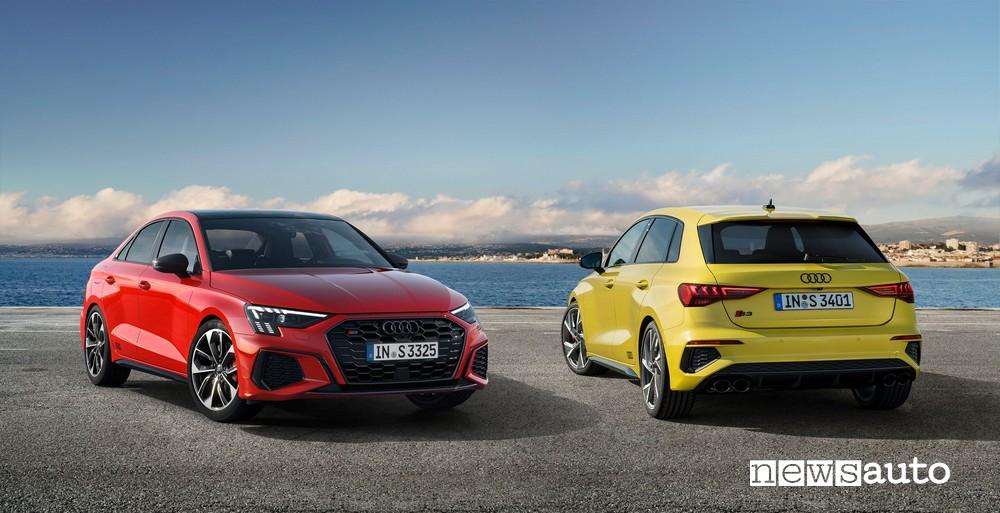Nuova Audi S3 Sportback e Sedan 2020 / 2021
