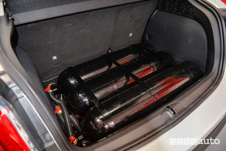 Bombole metano Fiat 500X benzina trasformata in metano
