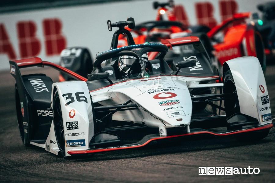 André Lotterer Porsche ePrix Berlino Formula E 2020
