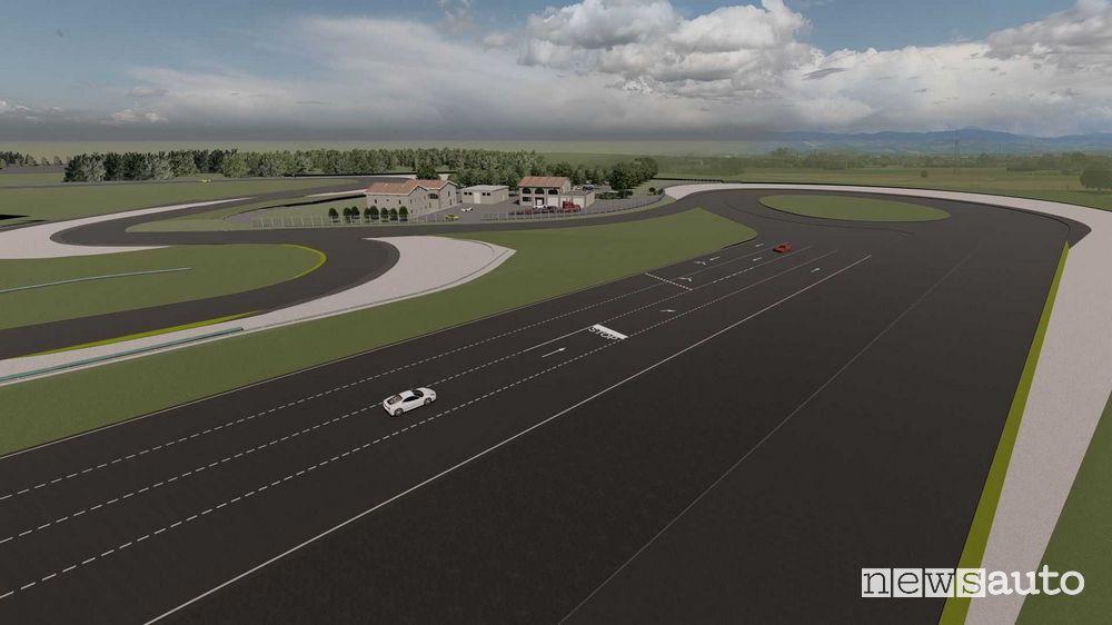 Sviluppo auto elettriche sulla pista di Modena