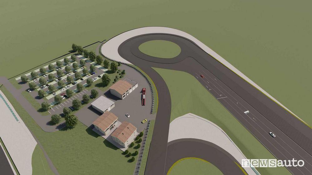 Sviluppo ampliamento nuovo autodromo di Modena