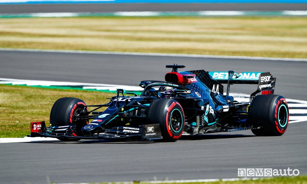 Qualifiche F1 GP 70° Anniversario F1 2020 Mercedes Hamilton