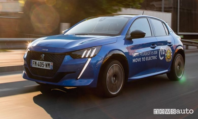 Gara auto elettriche di autonomia in Lituania