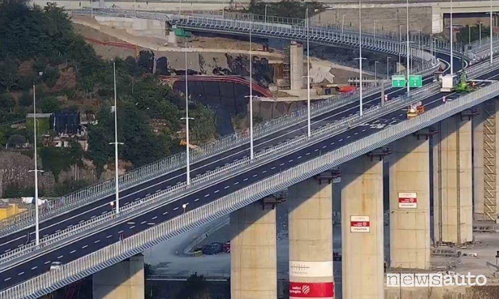 Ponte San Giorgio aperto alla circolazione dalle ore 22 del 4 agosto 2020