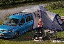Photo of Caddy California, arriva il mini camper di Volkswagen! Come è fatto