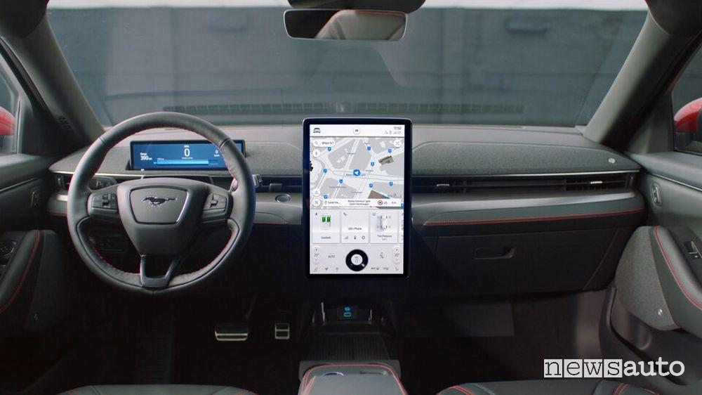 Navigatore evoluto sul Ford Sync 4
