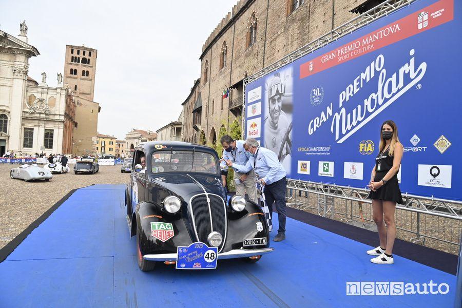 GP Nuvolari 2020 equipaggio n 48 Passanante De Alessandrini