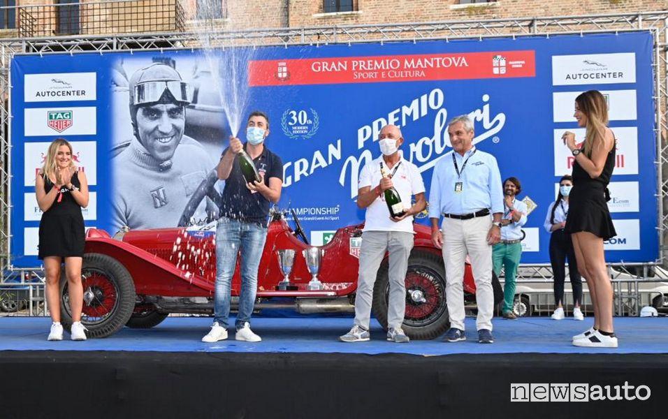 Vincitori GP Nuvolari 2020 A Vesco R Vesco sul podio