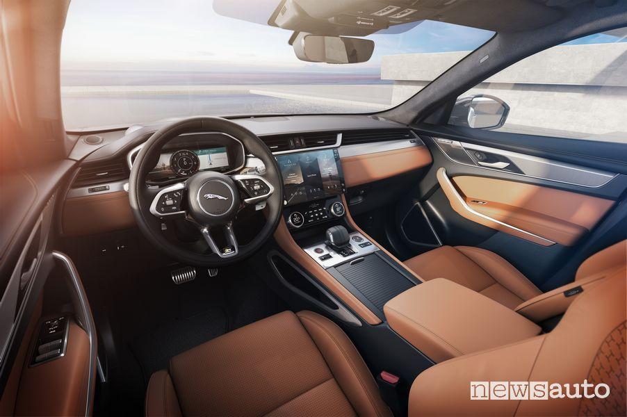 Plancia strumenti abitacolo Jaguar F-Pace 2021