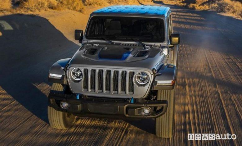 Jeep Wrangler 4xe ibrida plug-in, caratteristiche