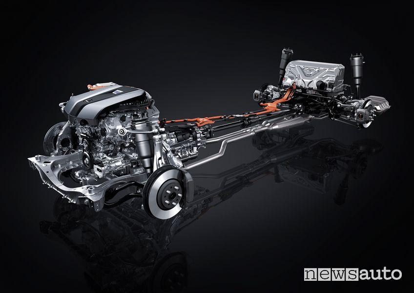 Trazione ibrida Lexus LS 500h