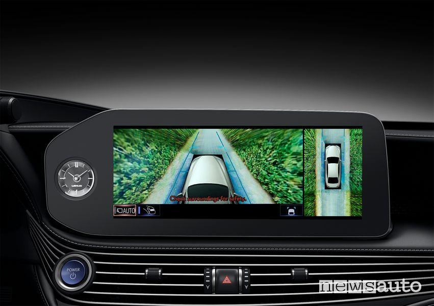 "Touch screen 12,3"" abitacolo Lexus LS 500"