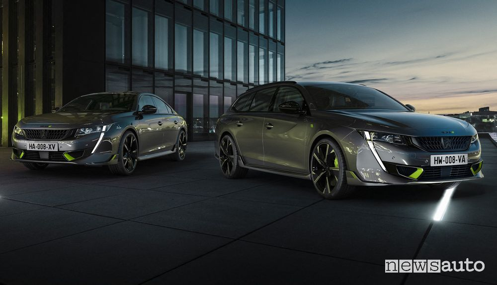 Nuova Peugeot 508 Sport Engineered