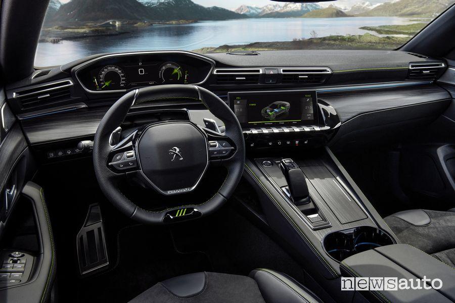 Peugeot i-Cockpit abitacolo Peugeot 508 Sport Engineered