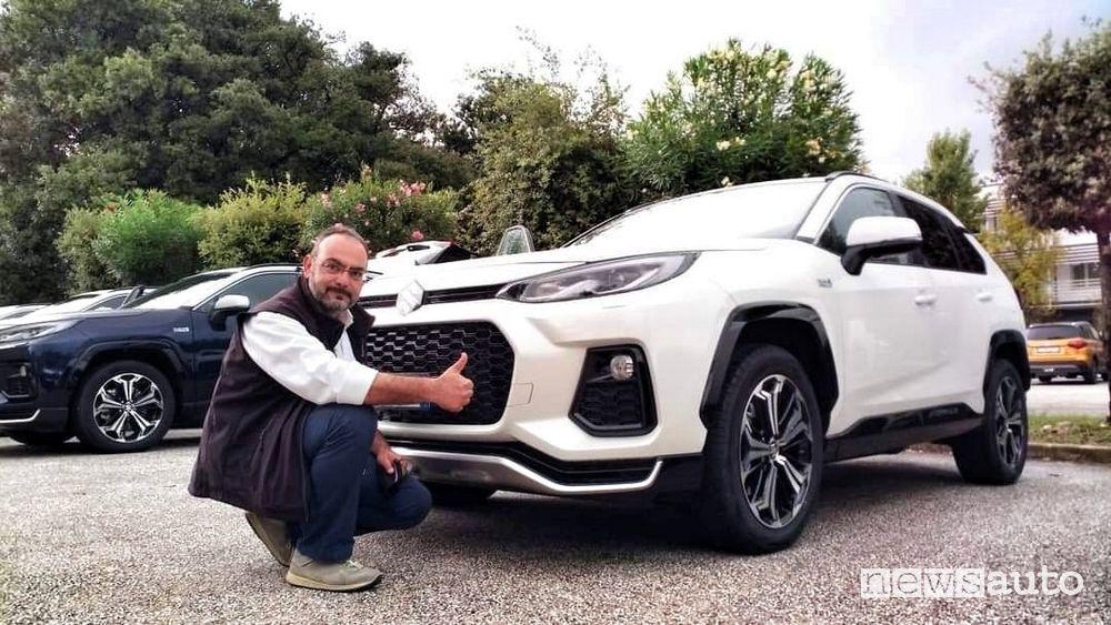 Luigi Sodano primo contatto con il Suzuki Across
