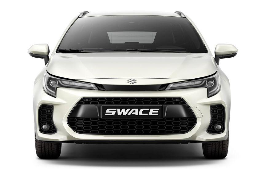 Frontale Suzuki Swace