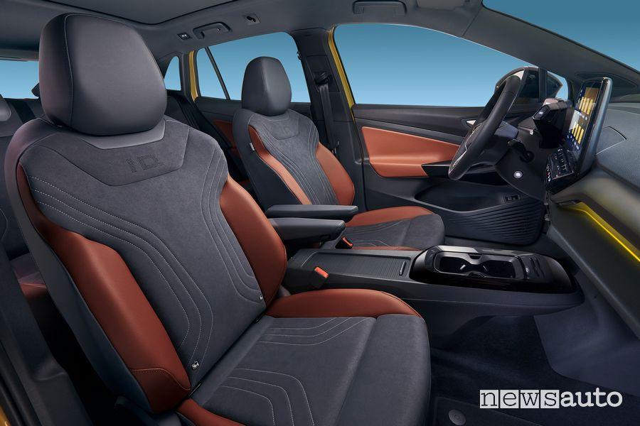 Sedili anteriori abitacolo Volkswagen ID.4 1ST Max