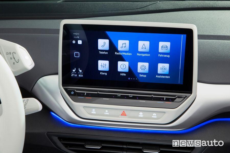 """Touch screen da 10"""" abitacolo Volkswagen ID.4 1ST"""