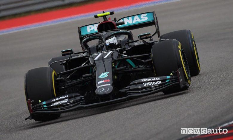 F1 Gp Russia, vittoria Mercedes con Bottas