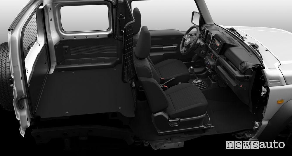 Suzuki Jimny Van autocarro abitacolo