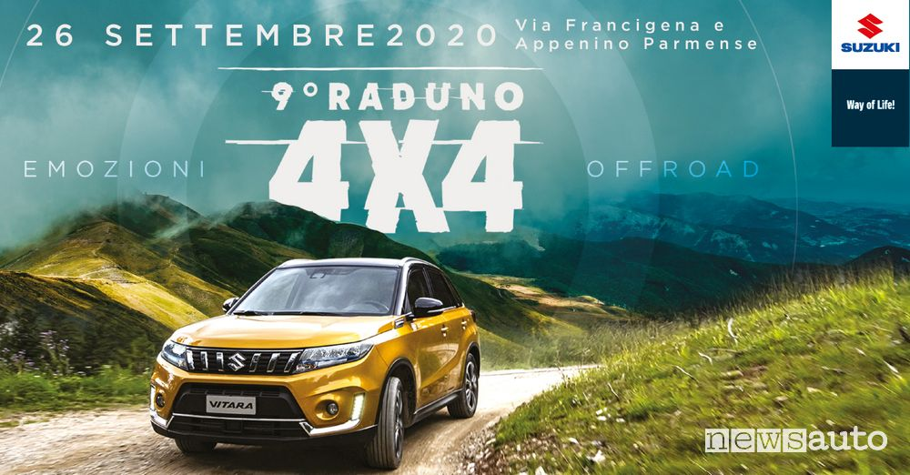 Locandina Raduno Suzuki 4x4 2020