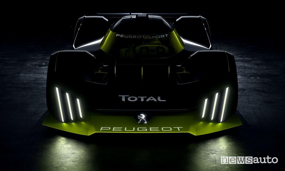 Peugeot alla 24 Ore di Le Mans 2022 nella categoria LMH hypercar