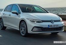 Photo of Volkswagen Golf 8 metano, monovalente, caratteristiche e prezzi